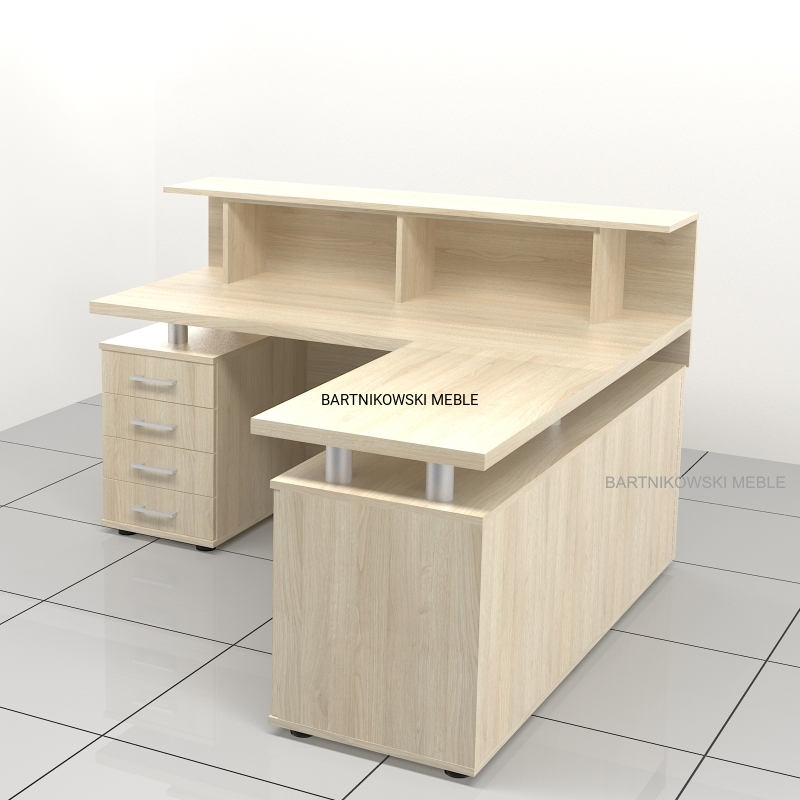 biurka z nadstawką na wymiar