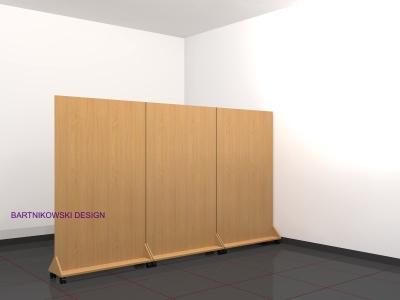 Chwalebne Ścianki biurowe - BARTNIKOWSKI MEBLE BIUROWE JW11